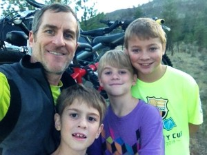 boys bike ride
